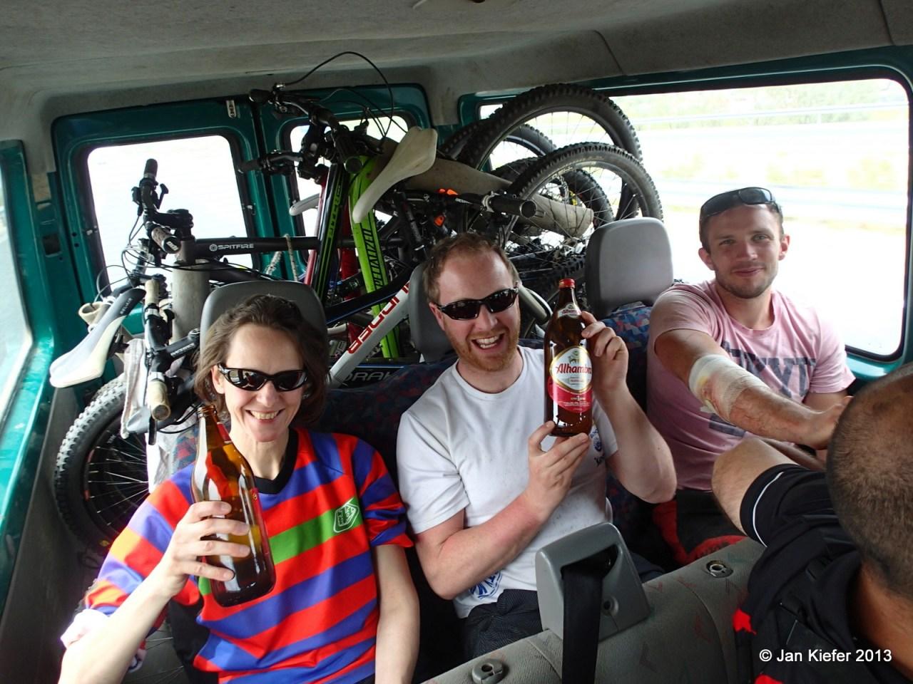 MTB Freeride Downhill Shuttle