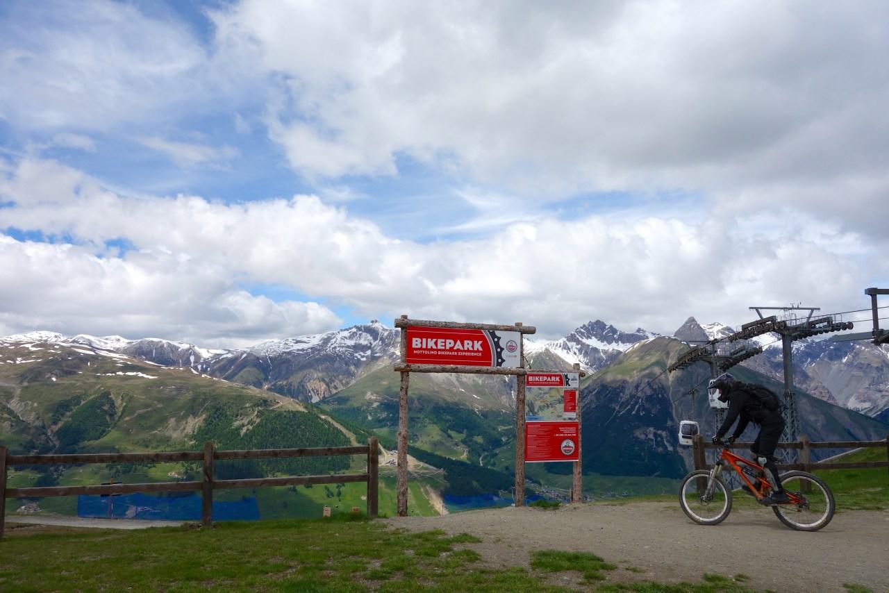 mtb downhill bikepark livigno mottolino