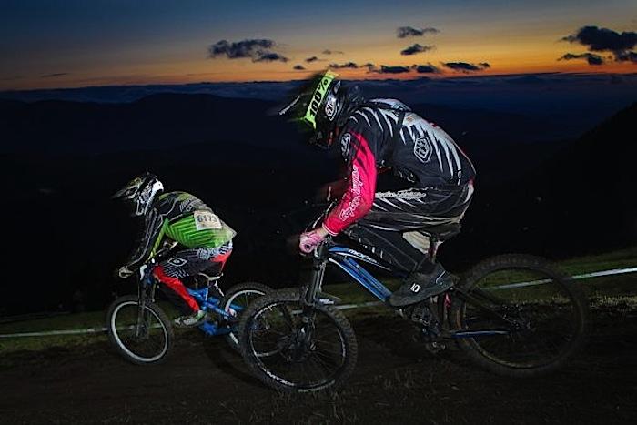 24 Stunden Downhill RACE THE NIGHT 2013