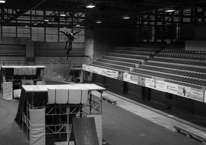 Bikehalle Huttwil Indoor Bikepark