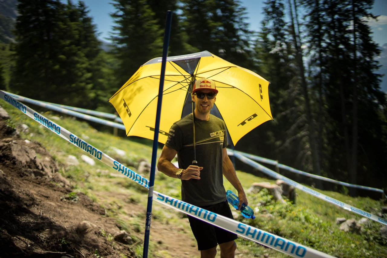 uci downhill world cup lenzerheide 2015 track walk
