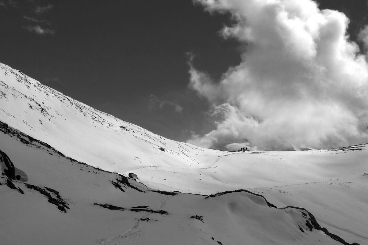 Rothorn - Bereits ins Winterkleid gehüllt
