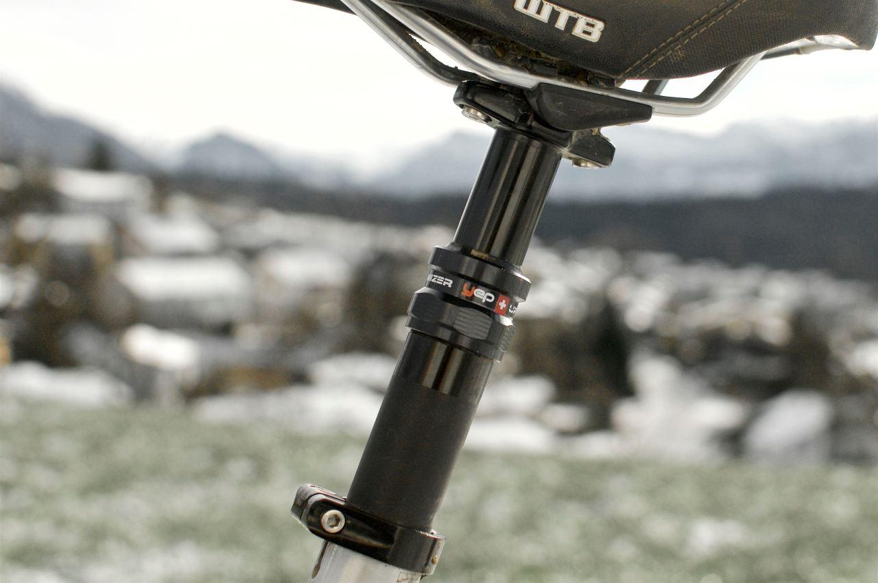 yep uptimizer sattelstütze vario teleskop dropper post