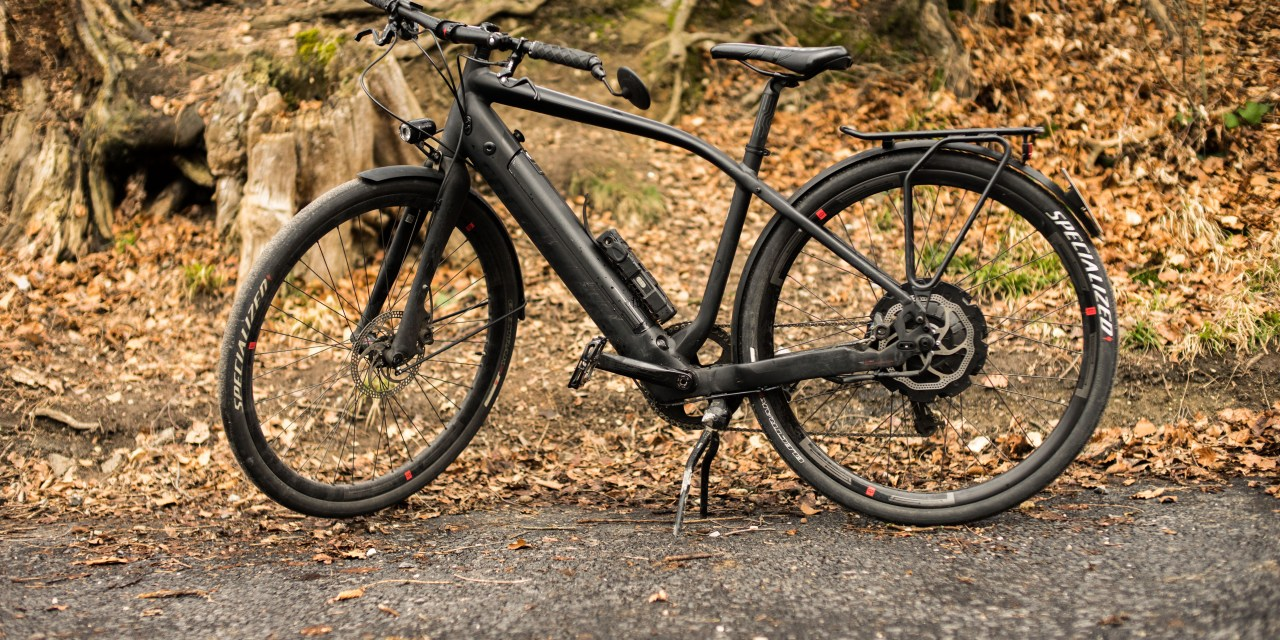 specialized turbo s e-bike full view side