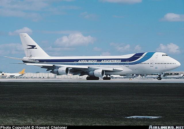 LV-MLO en el aeropuerto de Miami, foto: Airliners.net
