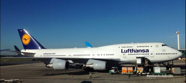 Lufthansa B747