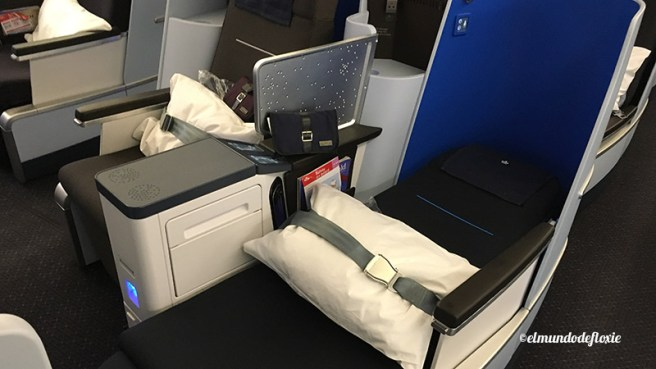 Asiento cama en la nueva World Business Class