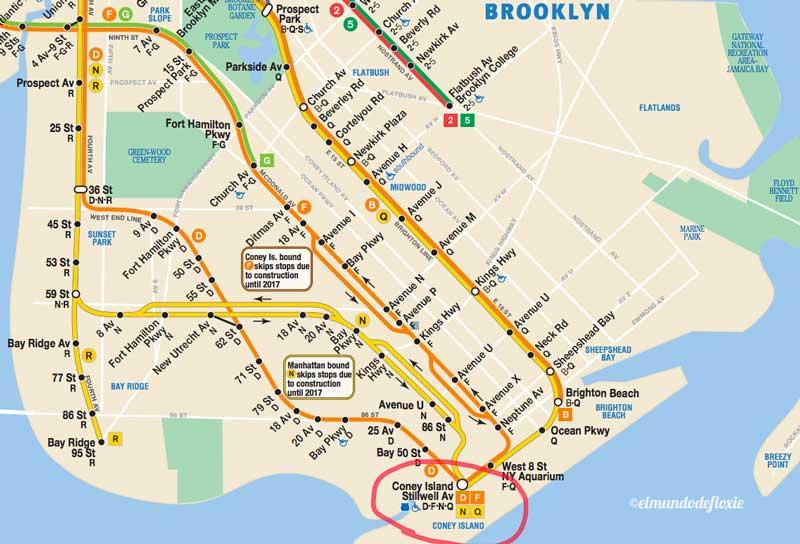 Buscando A Zoltar En Coney Island Ny El Mundo De Floxie