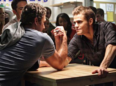 arm wrestling isn't the best in handling disgruntled customers