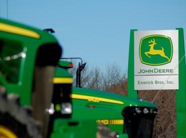 John Deere Dealership Sign