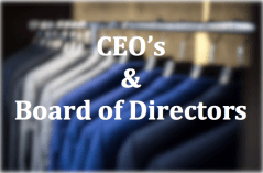 CEO's and Board of Directors Button on Executive Coaching Services by Floyd Jerkins