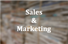 Sales and Marketing Button on Executive Coaching Services by Floyd Jerkins