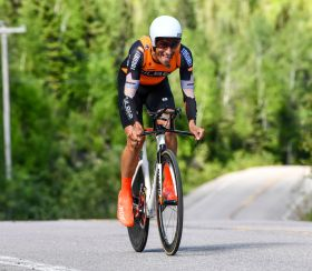Adam Jamieson was 3rd U23 and 10th fastest on the day. pic: Rob Jones / canadiancyclist.com