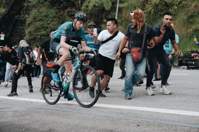 Keegan on his way to 3rd on Genting ©Kwee Jin