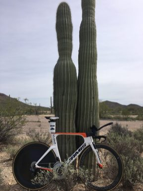 Jamis TT Bikes delivered our guys to a sweep of the podium at the Tucson Bicycle Classic's Stage 1 ITT
