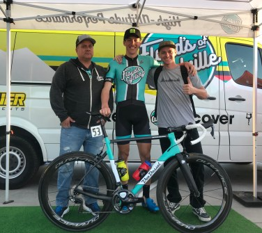 Pirelli's helped Granigan carve the technical finish of the Redlands crit full tilt for the win!