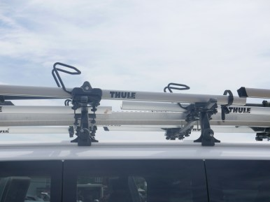 Thule has provided our racks and sacks for years. pic: Scott McFarlane