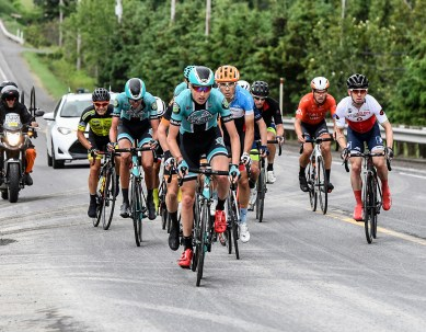 Stage 2: Keegan Swirbul was active all day and would finish an impressive 2nd up Megantic. ©canadiancyclist.com