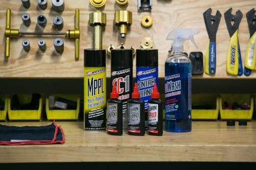 MaximaUSA products keep our bikes purring © Kathleen Dreier