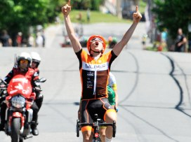 Perry wins Beauce, stage 5