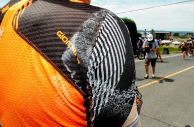 Hot weather in the Beauce ©VeloImages