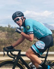 Gord Fraser lensed Travis hurting in the break at the Oracle RR in Tucson