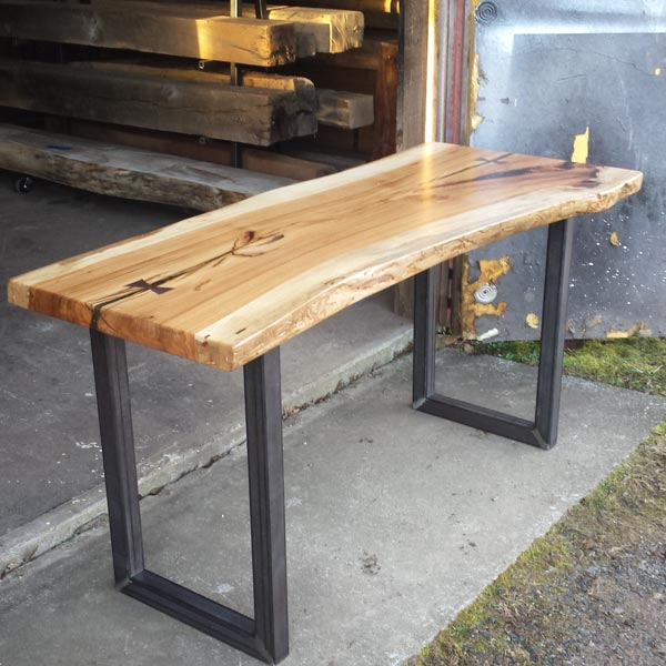 The workshop floyd va for Square iron table legs