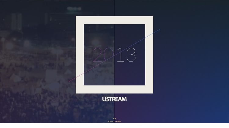 2013 on Ustream