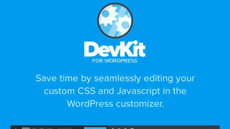 DevKit – Developer Tools for WordPress