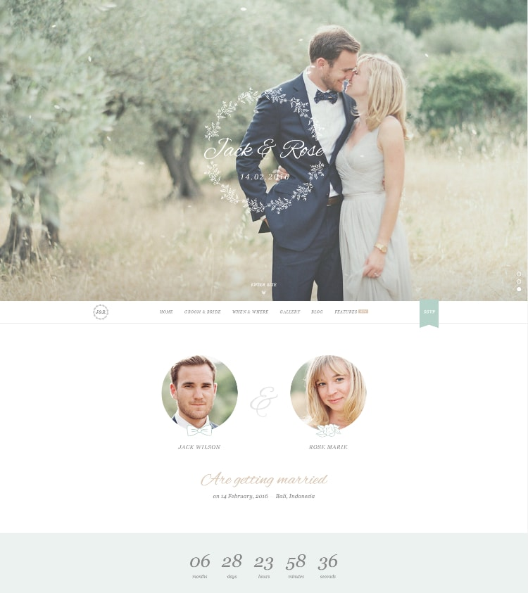 13 Great Wedding WordPress Themes - http://www.fltdsgn.com