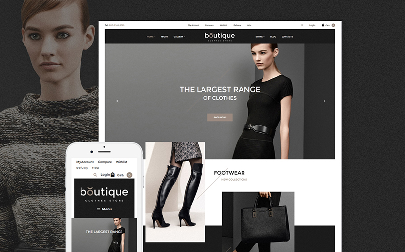 high fashion woocommerce theme