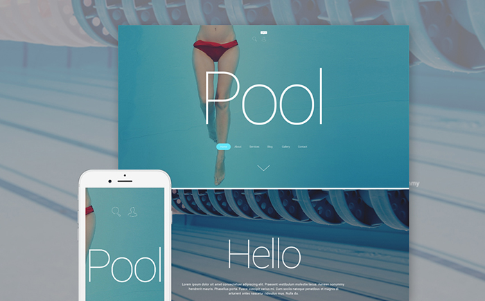 Pool Cleaning WordPress Theme