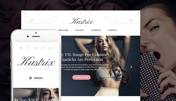 10 Awesome Flat Fashion WordPress Themes