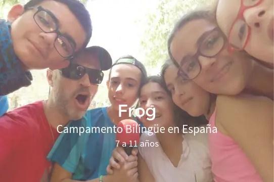 Campamento Bilingüe Verano Frog