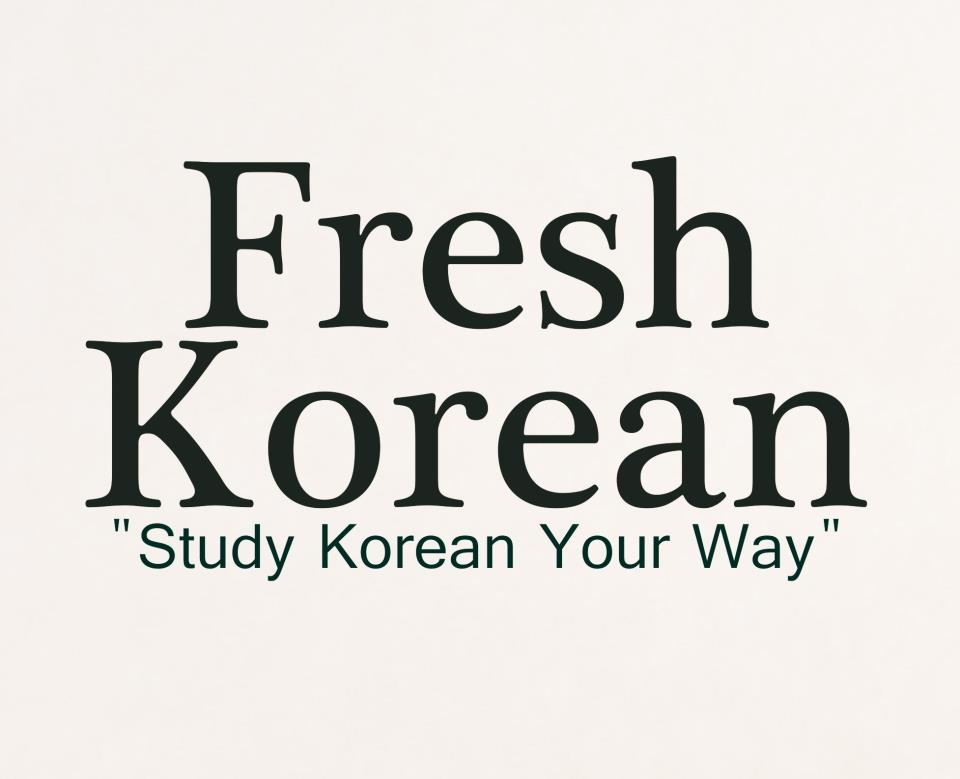 Beautify Your Korean With 7 Picture Flashcard Resources