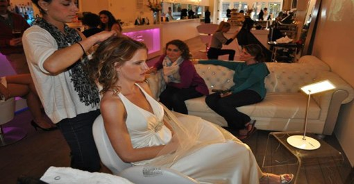 Denver Bride Artistry at Fluff – Updo and Make-Up at Fluff Bar