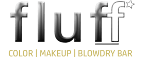 Fluff Color Makeup Blowdry Bar Logo