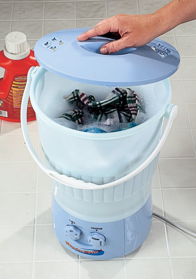 Washing Cloth Diapers In Portable Machines Fluff