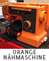 orange sewing machine from germany