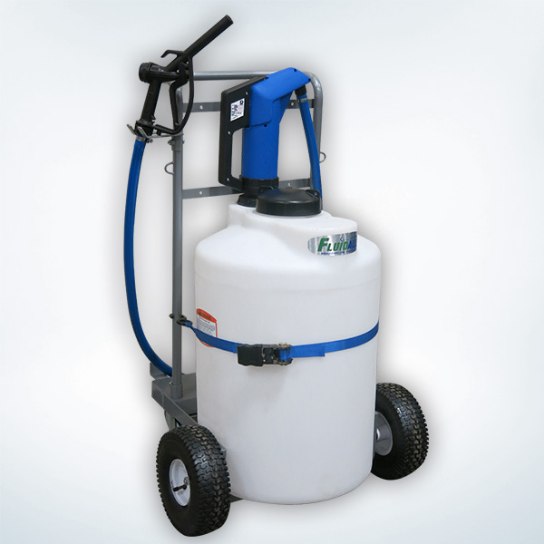 25 gallon def storage cart with mobile
