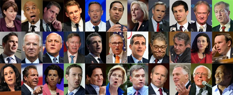 A First Take on the Democratic Candidates for President