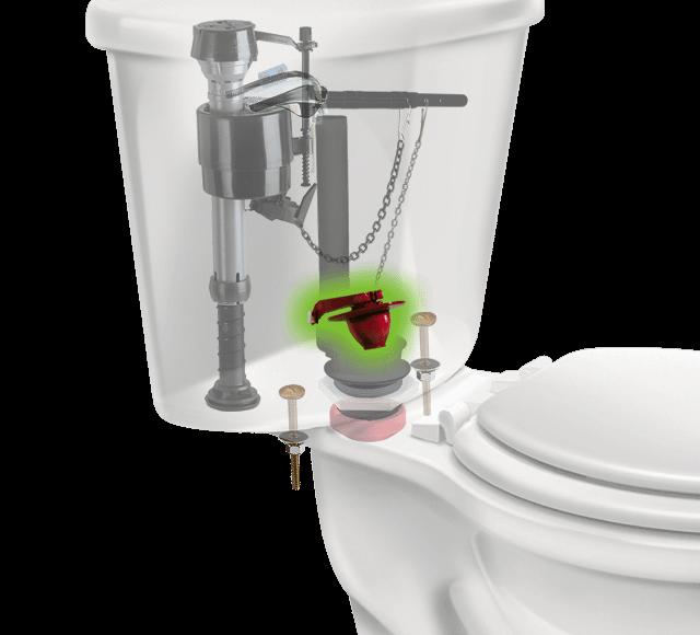 Fix A Running Toilet Fix A Leaking Toilet Toilet Flapper Not Closing Kohler Flapper Glacier Bay Flapper Fluidmaster