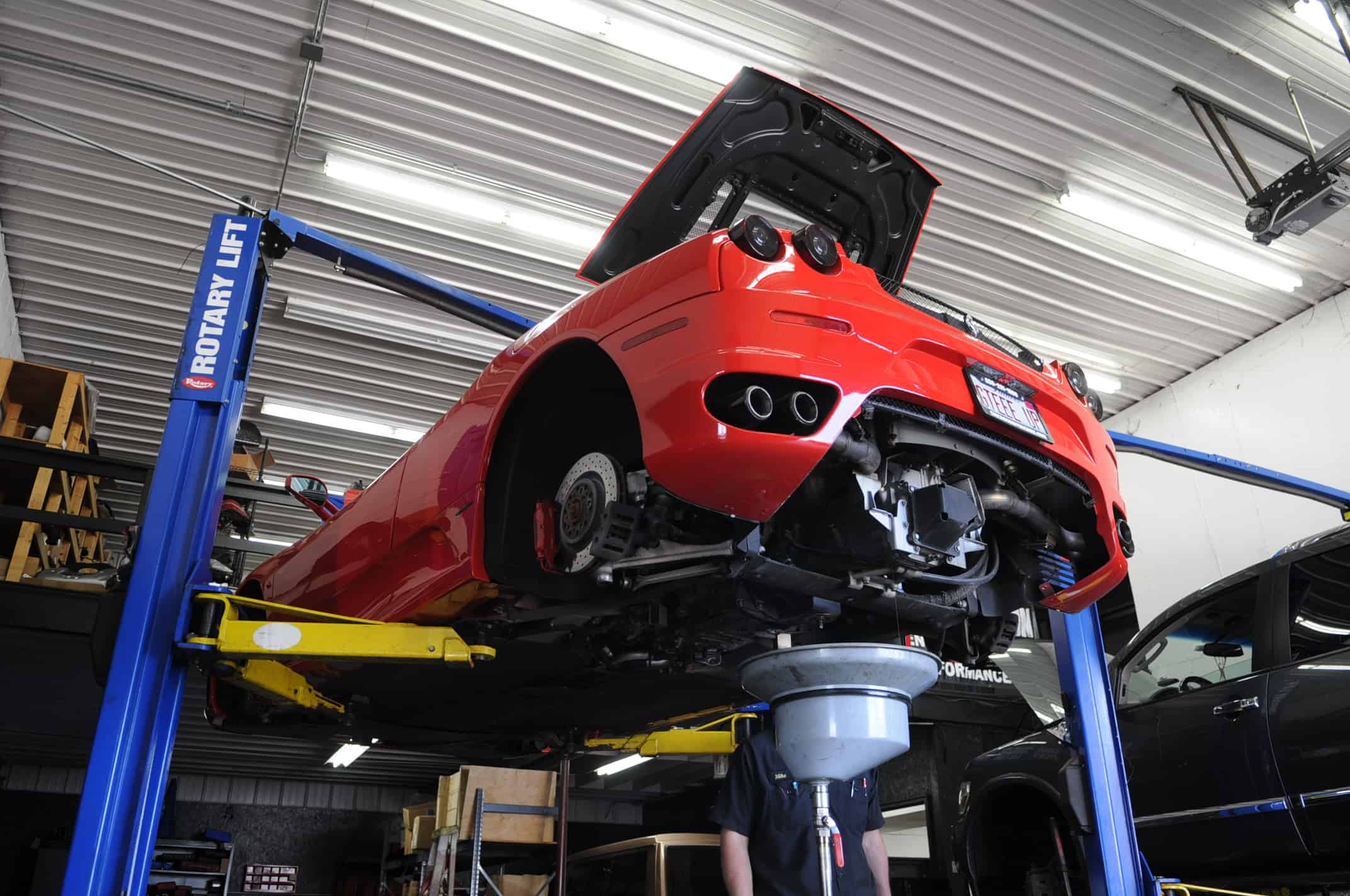 ferrari service f430 oil change transmission chicago naperville 4
