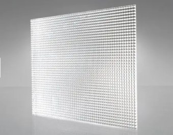 f19 clear prismatic panel