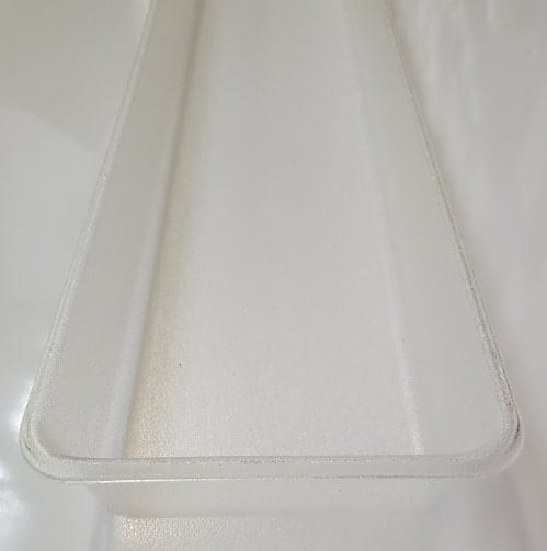 clear hook crepe vaportight light cover replacement light for fixture