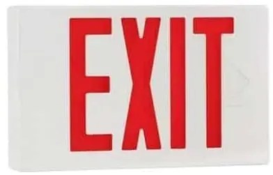 thermoplastic exit sign
