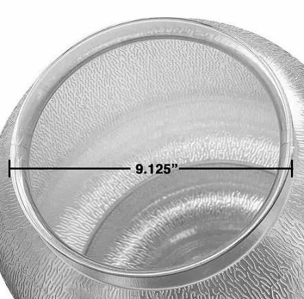 "polycarbonate acorn globe 9"""