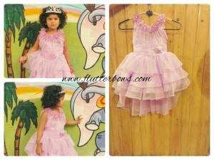 pink party wear for girls