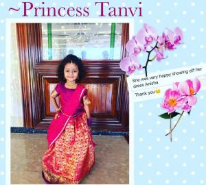 Traditional Lehenga for Llittle Girls