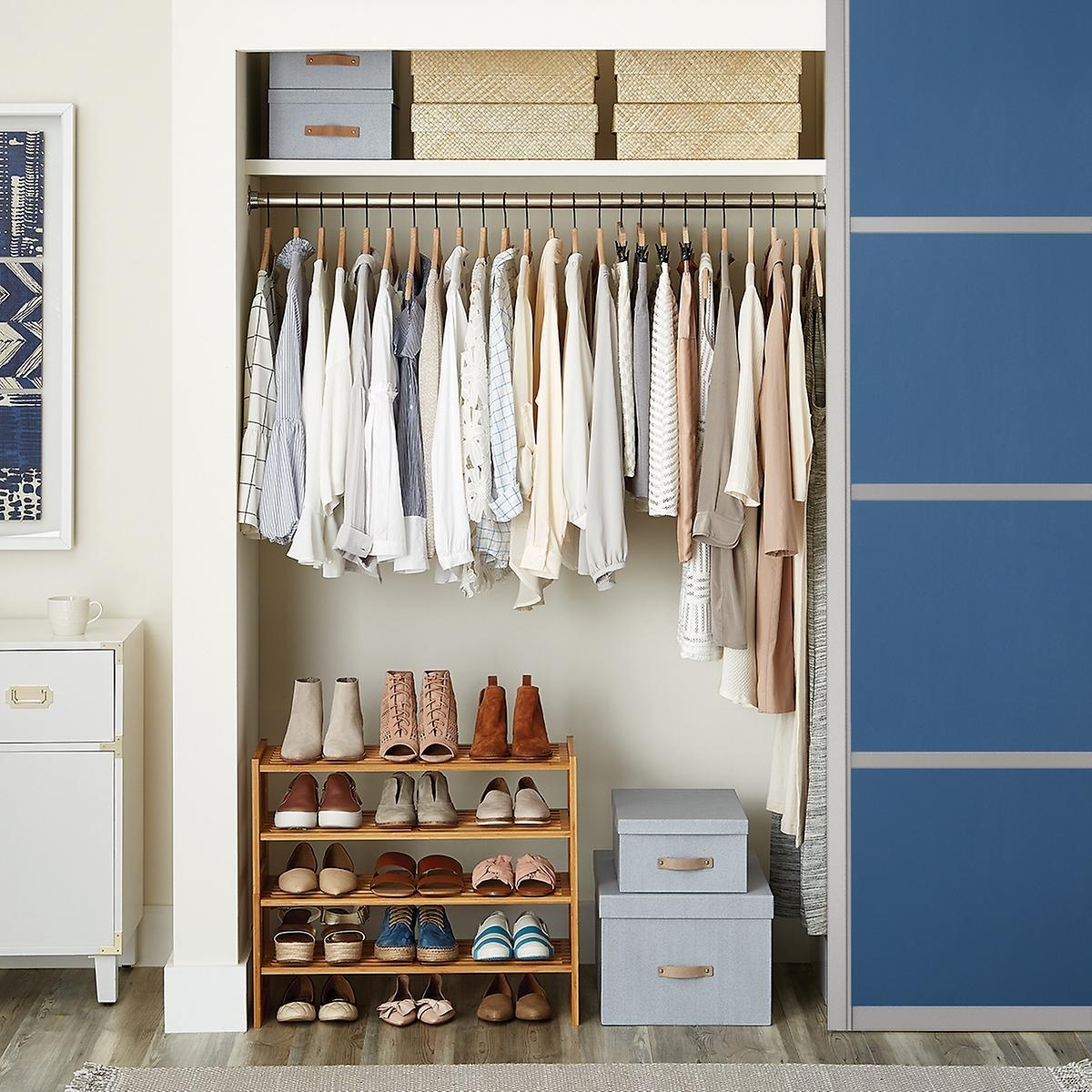 Great Detail Container Store Closet Organizer Home